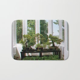 Bonsai Window Bath Mat