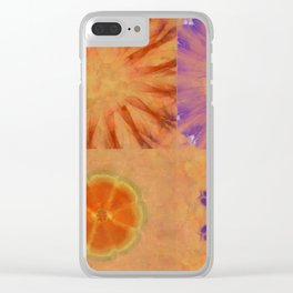 Triumvirs Unconcealed Flower  ID:16165-043712-23190 Clear iPhone Case
