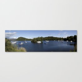 Crystal Blue Canvas Print
