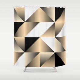 Gold Wrap Shower Curtain
