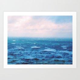 Ocean Dreaming Art Print