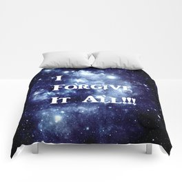 Blue Galaxy : I Forgive It All Comforters