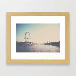 looking back ...  Framed Art Print