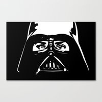 darth Canvas Prints featuring Darth  by shazii