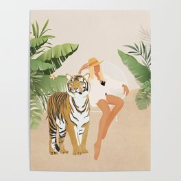 The Lady and the Tiger Poster