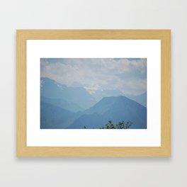 """The Hills Are Alive"" Framed Art Print"