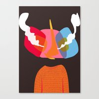 bug Canvas Prints featuring Bug. by Iain McGregor
