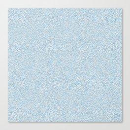 Blue plastering textures Canvas Print