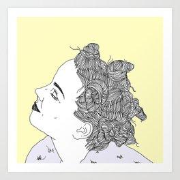 Army of Me Art Print