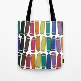 Crayon Box Tote Bag