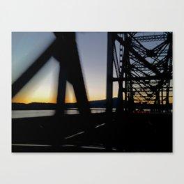Westbound bridge Canvas Print