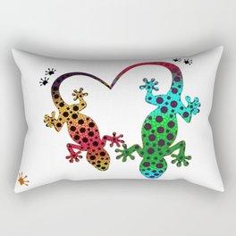 Lizard Love Rectangular Pillow