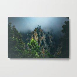 Wasatch Mountains, No. 2 Metal Print