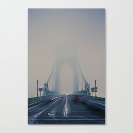 St. Johns Bridge Fog Canvas Print