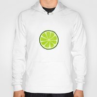 lime Hoodies featuring Lime by Linde Townsend