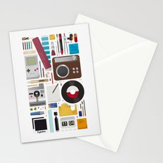 Stuff (white background) Stationery Cards