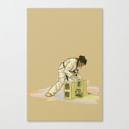 Broken Brick Canvas Print
