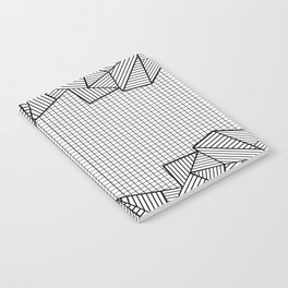 Grids and Stripes Notebook