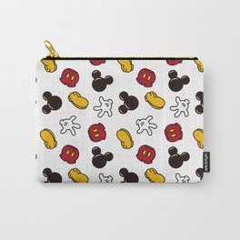 Mickey Mouse icons Carry-All Pouch