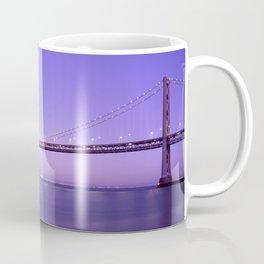San Francisco - Oakland Bay Bridge at Night Coffee Mug