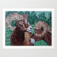 Rams Art Print