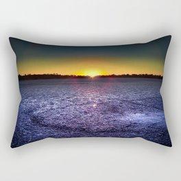 Pink Lakes Rectangular Pillow