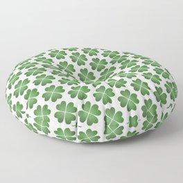 Hearts Clover Pattern Floor Pillow