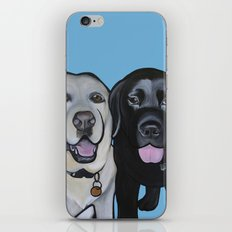 Indie & Daisy the labs iPhone & iPod Skin