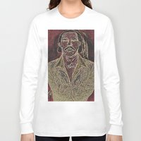 nick cave Long Sleeve T-shirts featuring Cave by Alec Goss