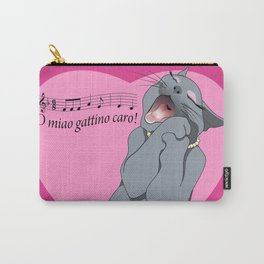 Soprano cat Carry-All Pouch