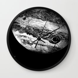 Jupiter & 3 Minions Wall Clock