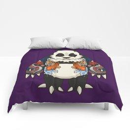 Yakuza Panda - DragonKoi  Comforters