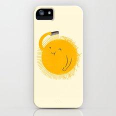 Here comes the sun iPhone SE Slim Case