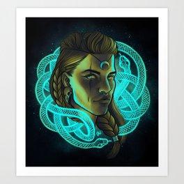 Celtic Universe Art Print