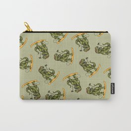 Dinosaur Surfer Carry-All Pouch