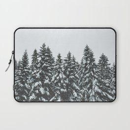 SNOWY TREETOPS Laptop Sleeve
