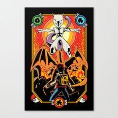 Epic Pocket Monster Canvas Print