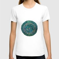 tree rings T-shirts featuring Annual Rings by Klara Acel