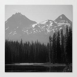 Lake Mist Canvas Print