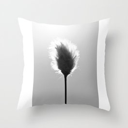 Cotton Flower Throw Pillow
