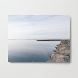 BLUE MOON IX / Alviso, California Metal Print