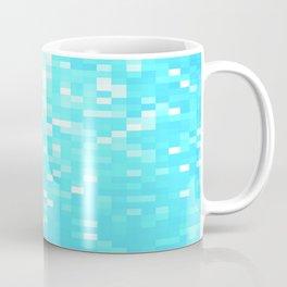 turquoise Pixel Sparkle Coffee Mug
