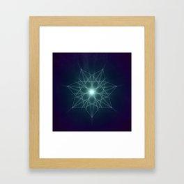 Fairy Star Framed Art Print