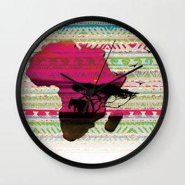 African Pride Wall Clock