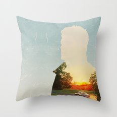 Dean Winchester Supernatural Impala  Throw Pillow
