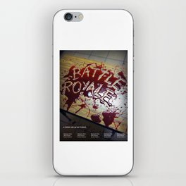Battle Royale - Japanese film poster iPhone Skin