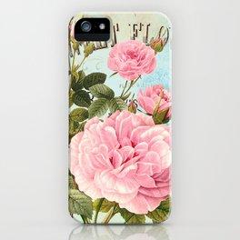 Vintage Flowers #2 iPhone Case