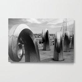 Ballard Locks Metal Print