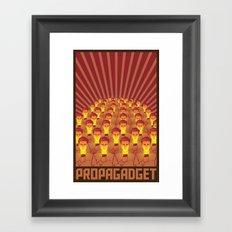 PROPAGADGET 2 Framed Art Print