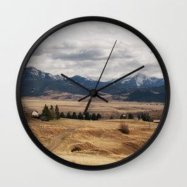 Livingston, MT Wall Clock